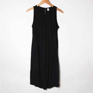 Old Navy Pleated front Simple Black Dress_M